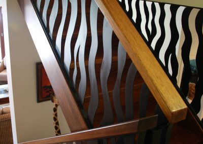 Zebra balustrade